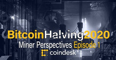 In the most basic sense, a blockchain is a digital ledger that stores information about its. Bitcoin Halving 2020: Miners in China Brace For Impact - CoinDesk