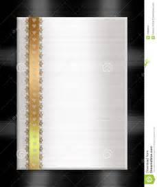 formal invitation template gold black white stock