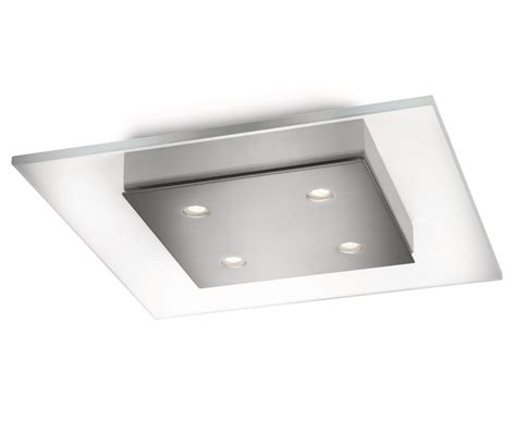 philips instyle matt chrome wall light philips instyle matrix led square ceiling light 4 x 2 5w