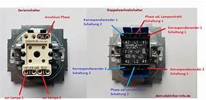 Aufputz Lichtschalter Anschließen : wechselschalter lichtschalter anschliessen a1 a2 l wiring diagram ~ Watch28wear.com Haus und Dekorationen