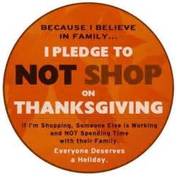 boycott shopping on thanksgiving why you should wendys hat