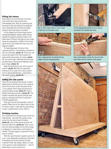 plywood storage rack plans woodarchivist