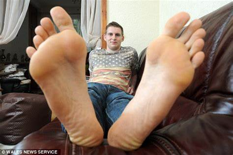 Greatest Socks Fan In The World Son With Britain'S Immense Legs Carl Griffiths Charged