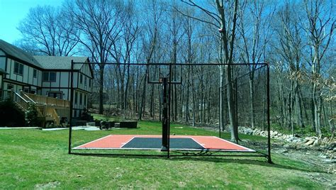 Backyard Net System by Hoops Plus Let The Begin Services