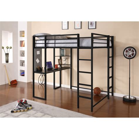 Loft Bed by Dhp Abode Loft Bed Black Bunk Beds Loft Beds At
