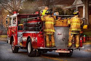 Fireman - Metuchen Fire Department Photograph by Mike Savad