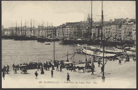 france marseille  port el postcard