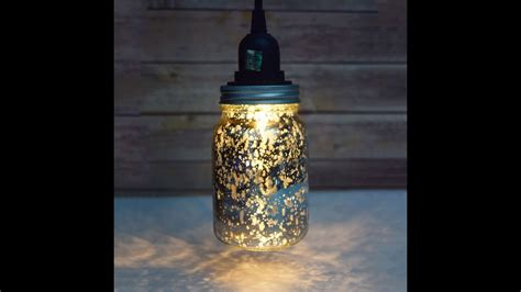 Diy Mason Jar Pendant Light Kit Youtube