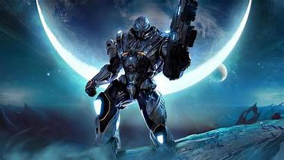 Space Power Armor Games Section Wallpapers Backgrounds