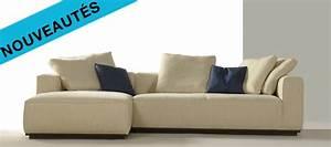 Canapé Tissu Angle : canap d 39 angle en tissu cleveland ~ Teatrodelosmanantiales.com Idées de Décoration