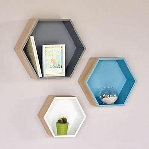 Etagere Murale Hexagonale : 1000 id es propos de etagere cube murale sur pinterest tag res suspendus etagere cube et ~ Preciouscoupons.com Idées de Décoration