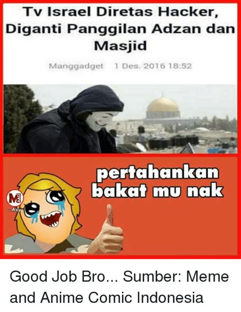 Meme Anime Indonesia - funny hackers memes of 2016 on sizzle 9gag