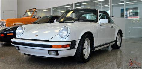 1988 Porsche 911 Carrera Targa 2door 32l