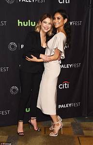 Ashley Benson and Shay Mitchell talk finale at Paleyfest ...