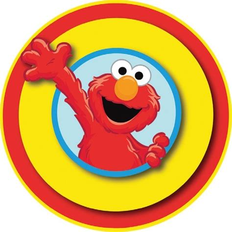 elmo  edible icing cake image kids themed party