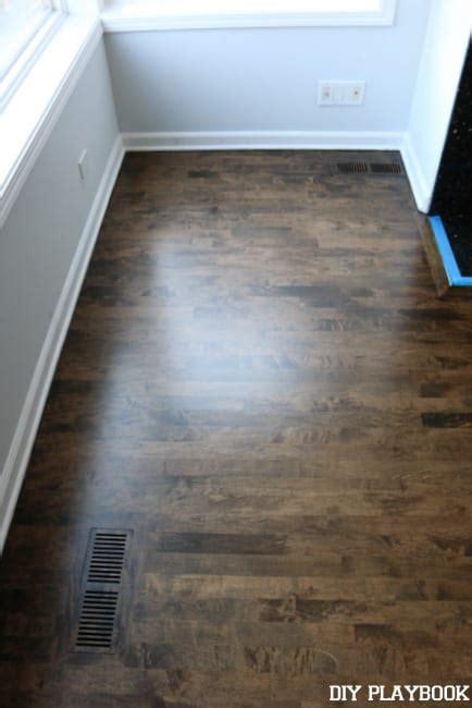 Before   After   Stain Hardwood Floors   DIY Playbook