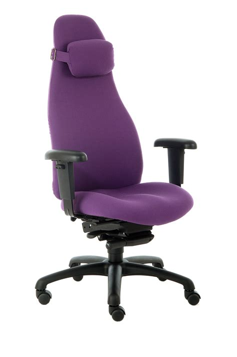 furniture black leather desk chair with silver arms