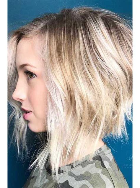 35 best layered short haircuts for round face 2018 short hairstyles 2018 2019 most popular