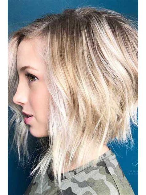 fresh layered short hairstyles   faces crazyforus