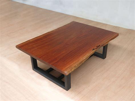 diriamba  edge slab coffee table  metal legs
