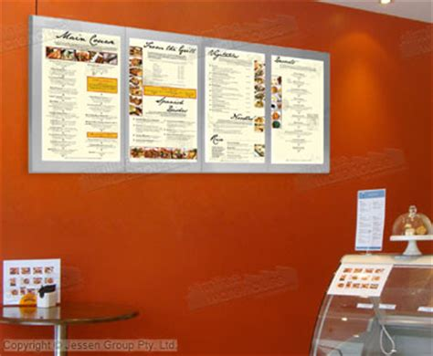 light up menu board wall mounted menu boards use leds to light up display