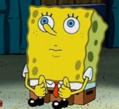Spongebob Meme Face - i m waiting spongebob squarepants know your meme