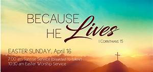 Easter Sunday Services – Haran Baptist Church