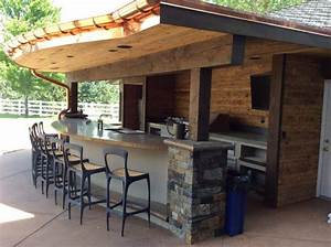 """Designing an Outdoor Kitchen: The """"Zones """" Hi-Tech Appliance"""