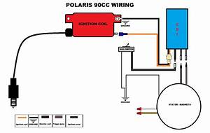 2001 Polaris Sportsman 90 Wiring Diagram