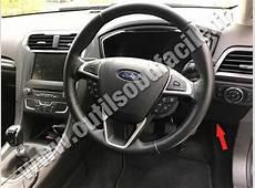 OBD2 connector location in Ford Mondeo 4 2014 RHD