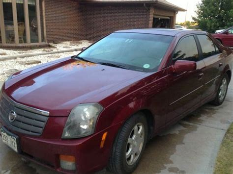 Cadillac Cts Sunroof by Buy Used 2003 Cadillac Cts Bose Sunroof Leather