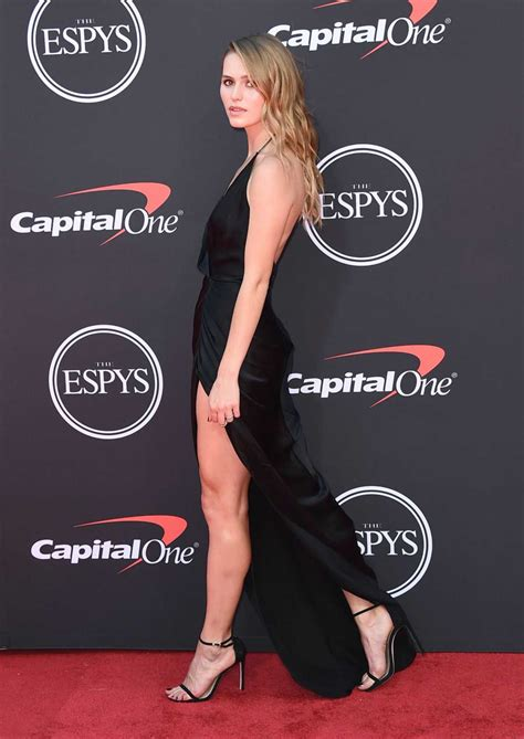 mallory edens attends  espy awards  los angeles