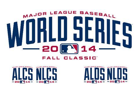 world series mlb postseason logos revealed chris