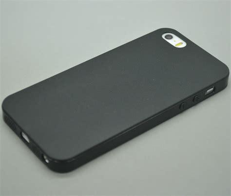 iphone 5s rubber ultra slim rubber soft silicone gel skin bumper cover