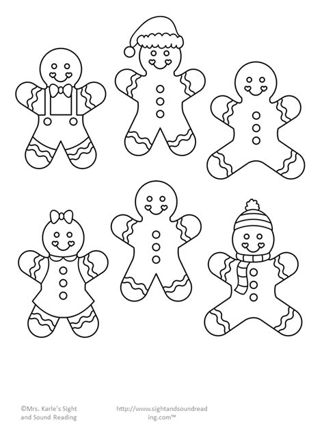 Gingerbread Template Gingerbread Cutout Template And Lesson Plan Day