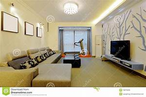 Modern Home Decorating Style Stock Photo