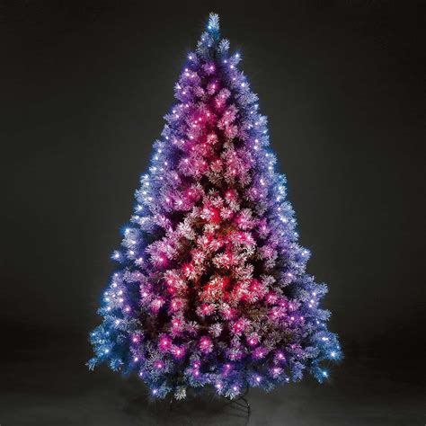 led lights christmas tree artificial trees with led lights madinbelgrade