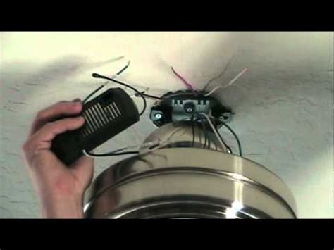 how to install a hunter ceiling fan hunter fan remote fast battery drain fix repeatvid