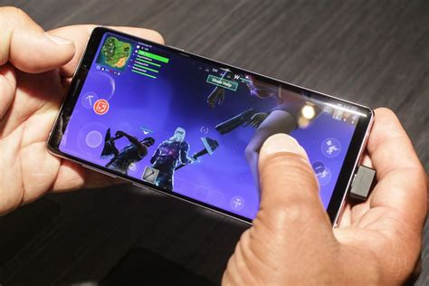 fortnite  android plays     youd hope cnet