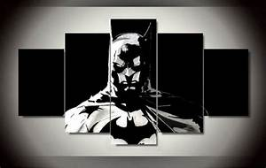 batman 5 panels wall art canvas print paintings large With best brand of paint for kitchen cabinets with amazon wall art canvas