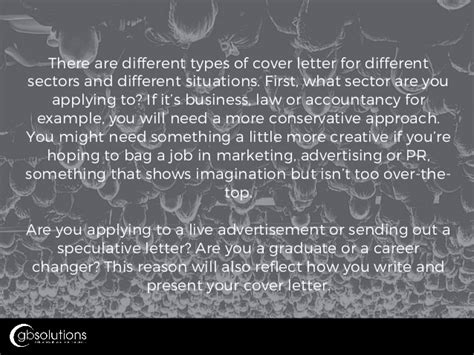 How To Write An Excellent Cover Letter For A by How To Write An Excellent Cover Letter