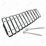 Xylophone Drawing Result Coloring sketch template