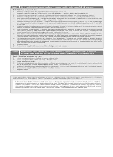 Resumen Anual In by Modelo 193 Resumen Anual De Retenciones E Ingresos