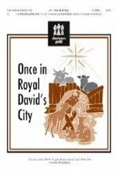 Once In Royal David's City Sheet Music by Cathy Moklebust ...