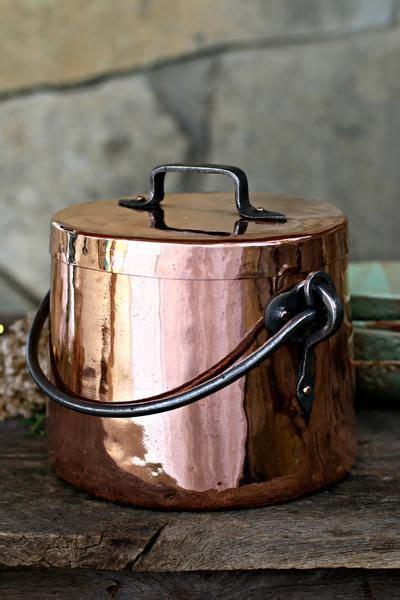 vintage copper large stockpot    images copper kitchen copper cookware copper