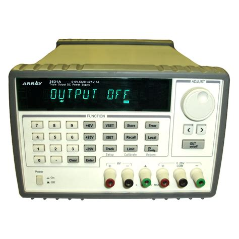 Triple Output Bench Power Supply