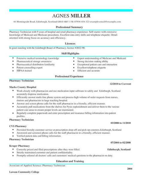 cv template for pharmacy technician uk pharmacy technician cv template cv sles exles