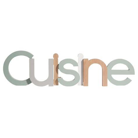 mot cuisine deco mot déco multicolore 61x16cm cuisine maisons du monde