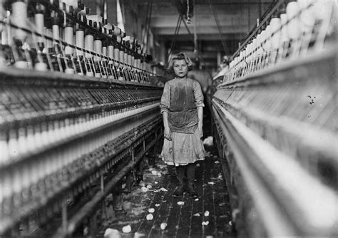 Filelewis Hine, Spinner In Globe Cotton Mill, Augusta