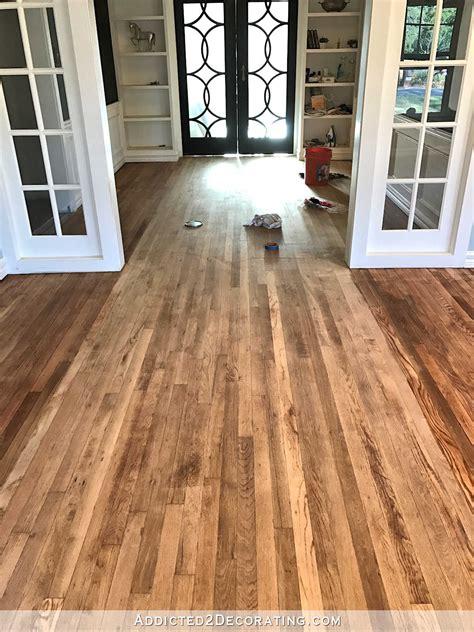 hardwood floor stain colors  red oak unique